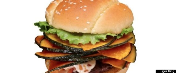 Burger King Pumpkin Burger