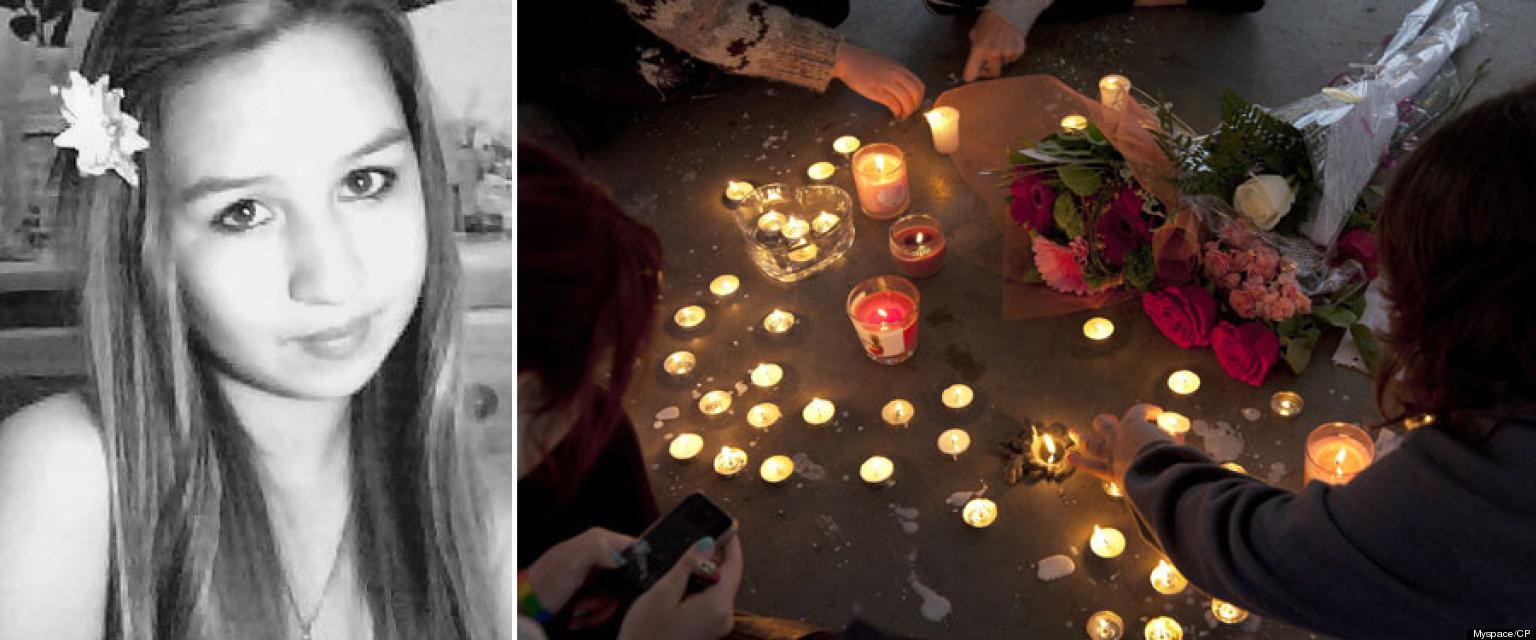 Amanda Todd Remembered In Alberta Memorials