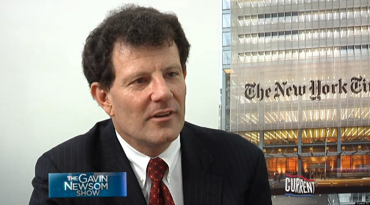 Nicholas Kristof On Obama: 'I Don't Think He Ever Came Up With A Good Bumper Sticker' (VIDEO)