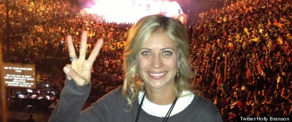 Holly Branson We Day