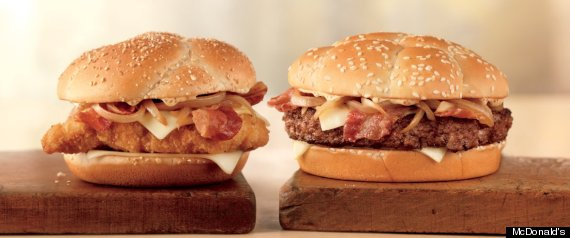 Mcdonalds Cheddar Bacon Onion