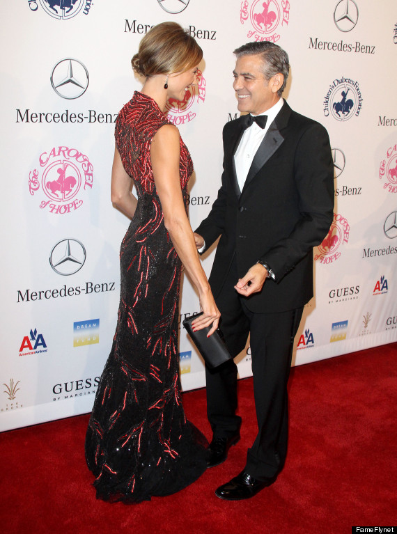 george clooney stacy keibler back together