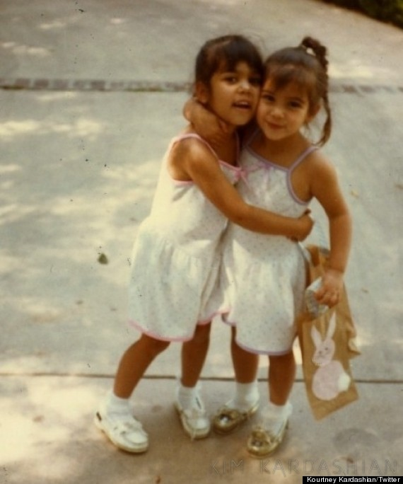 Kim Kardashian's Birthday: Kourtney And Khloe Share Baby Pictures For ...