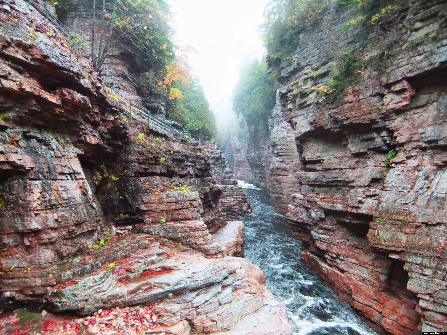 Ausable Chasm And Traditional Tourism In Upstate New York