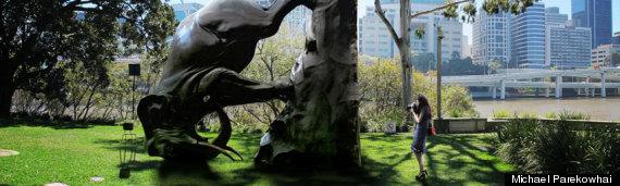 michael parekowhai elephant sculpture