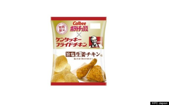 kfc potato chips
