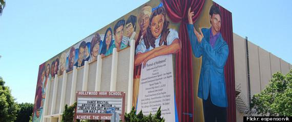 CAROL BURNETT HOLLYWOOD HIGH SCHOOL