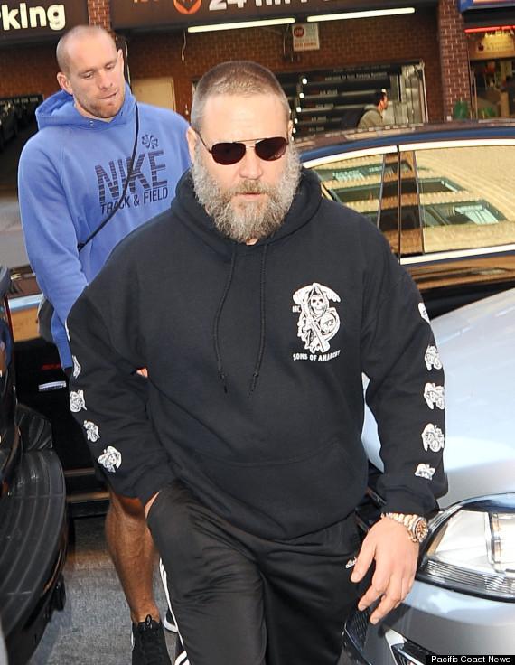russell crowe beard