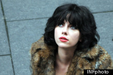 Under The Skin: Scarlett Johansson Is Unrecognisable In Shaggy Wig And Fur Coat