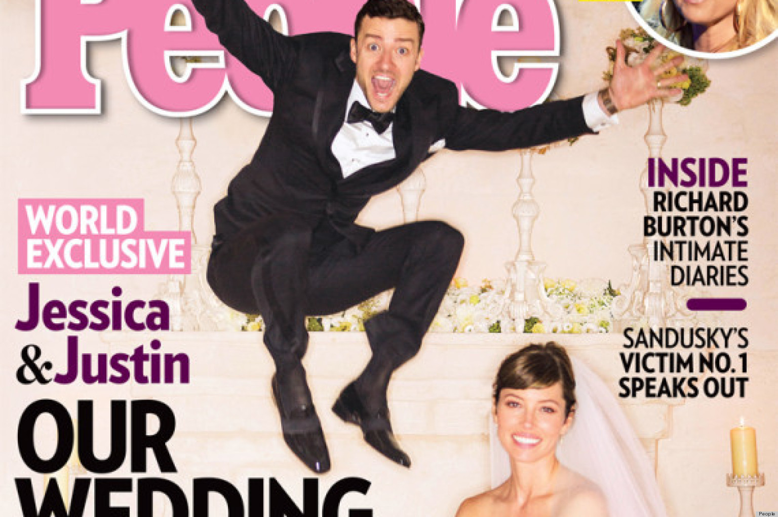 Jessica Biel's Wedding Dress Makes The Colored Bridal Gown ...