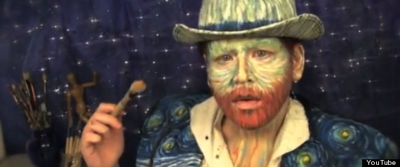 Van Gogh Makeup Tutorial