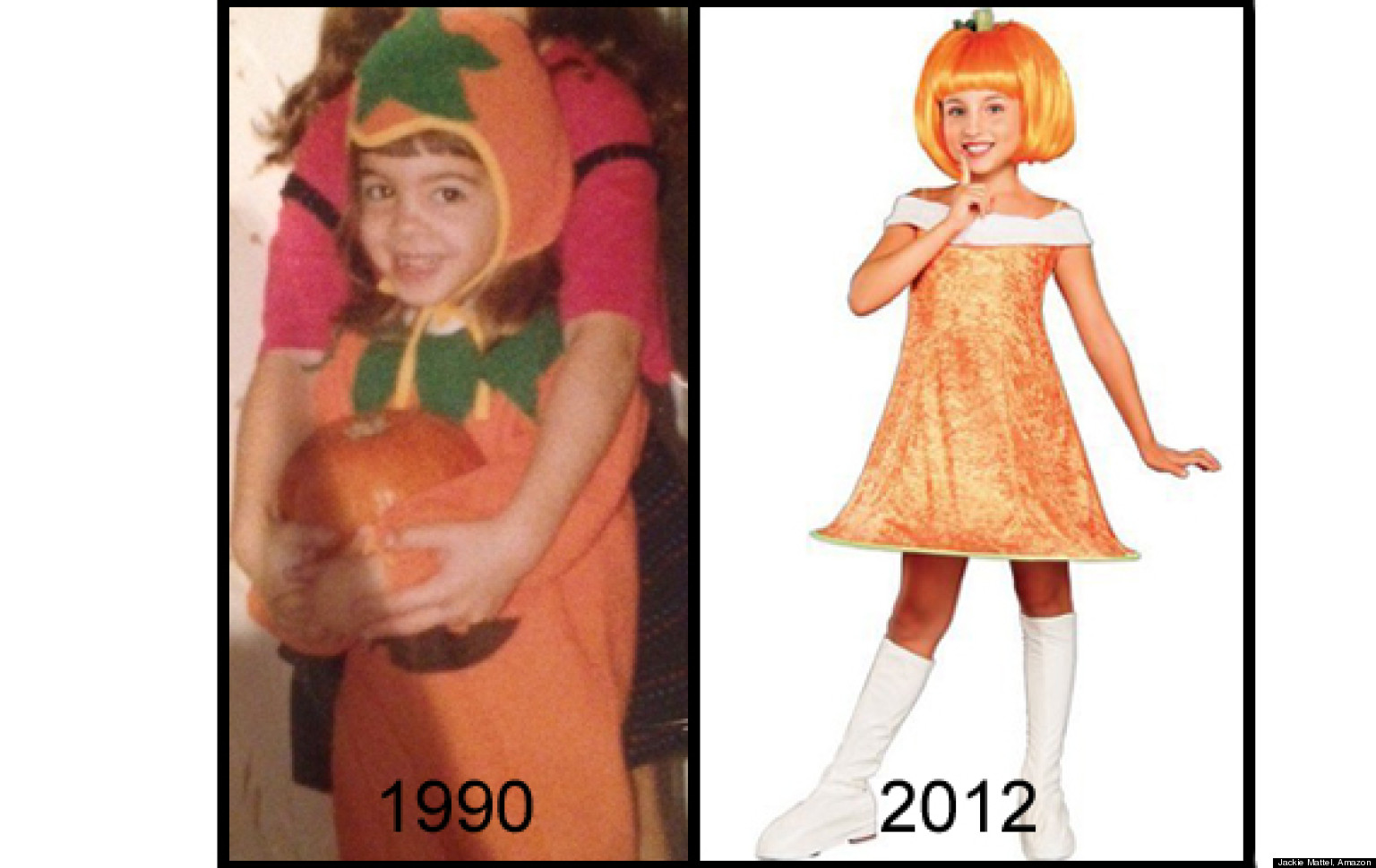 Girlsu0027 Halloween Costumes. Media Source  sc 1 st  Memes.com & Then-vs.-Now Comparisons That Will Make You Want to Go Back to the ...