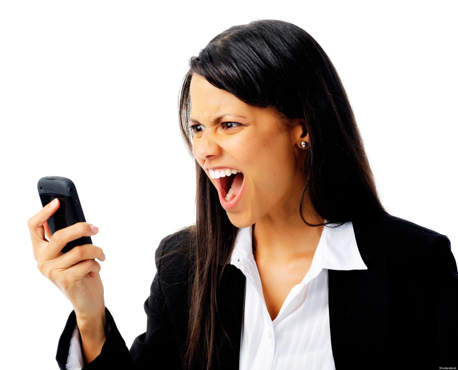 Русская женщина кричит 3 фотография