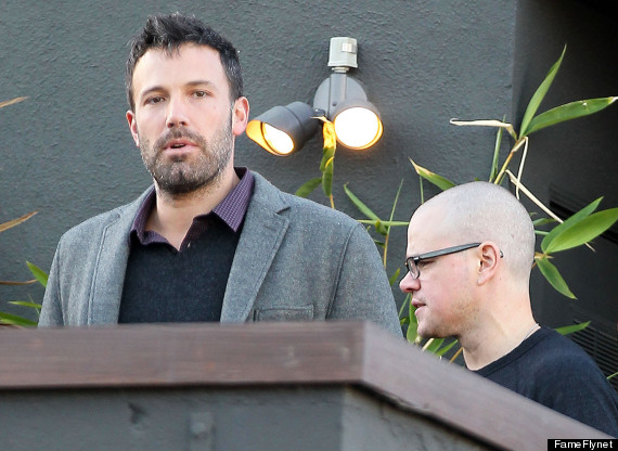 ben affleck matt damon reunite