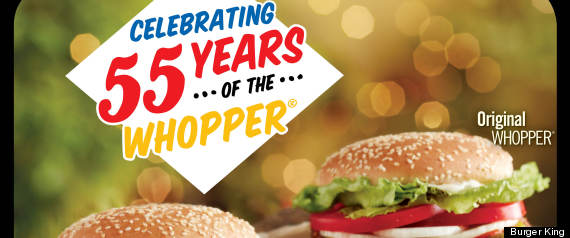 WHOPPER 55TH ANNIVERSARY