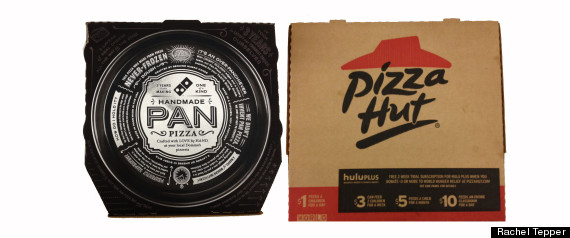 Pizza Hut Dominos Pan Pizza