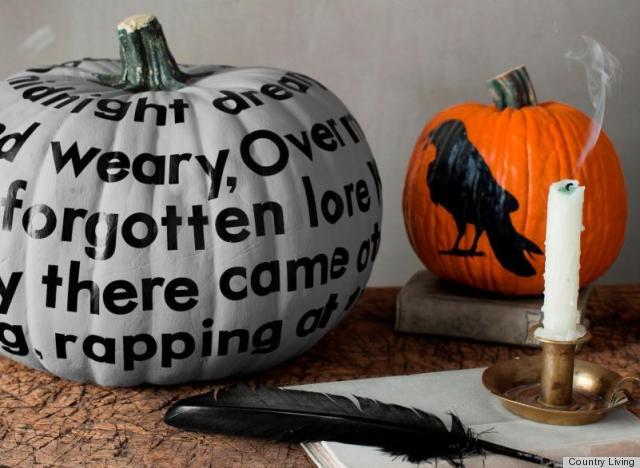 Halloween decorations painted pumpkins from country for 3 tier pumpkin decoration