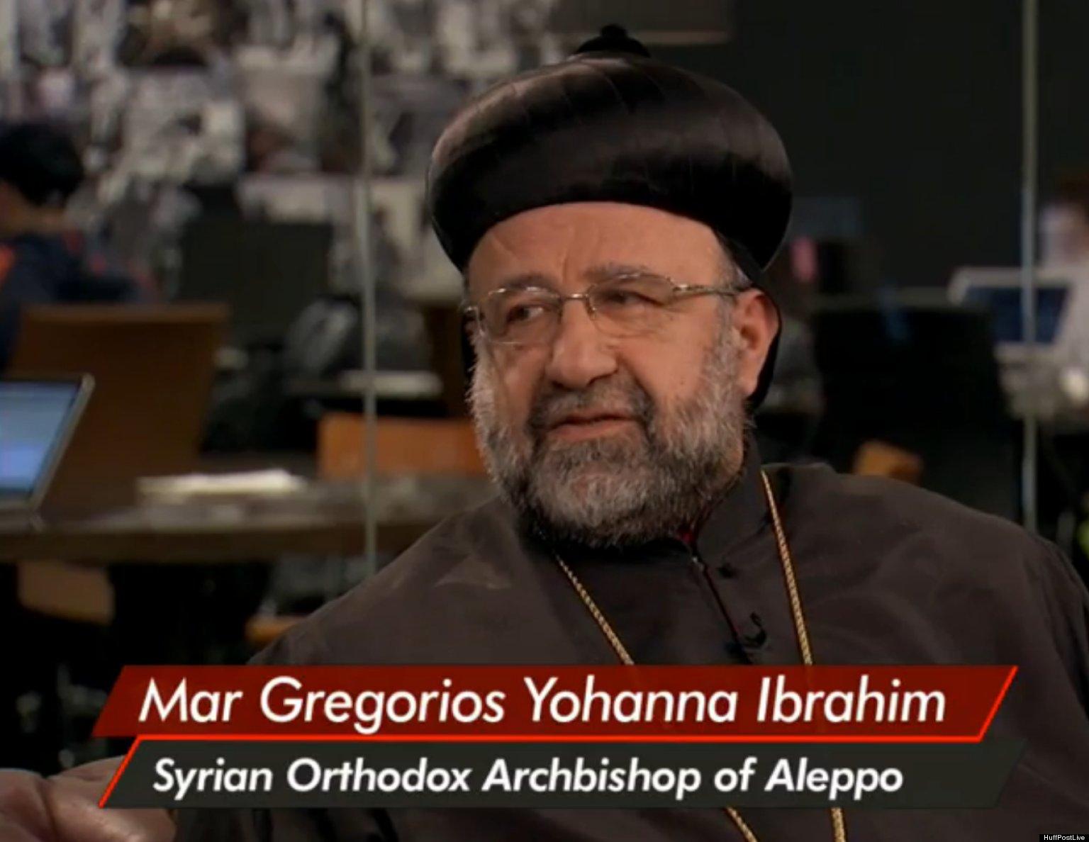 Mar Gregorios Yohanna Ibrahim, Syrian Archbishop Of Aleppo