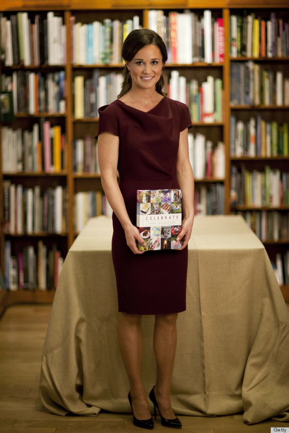 Pippa Middleton Debuts New Book In FOUR Different Outfits (PHOTOS)