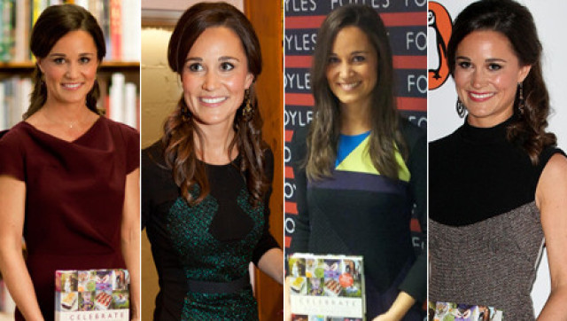 Pippa Middleton Debuts New Book In FOUR Different Outfits ...