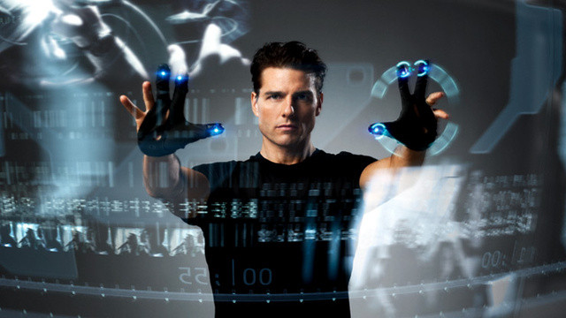 minority report movie technology