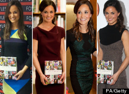 Quick Change Pippa Middleton Wears Four Dresses For Book Launch