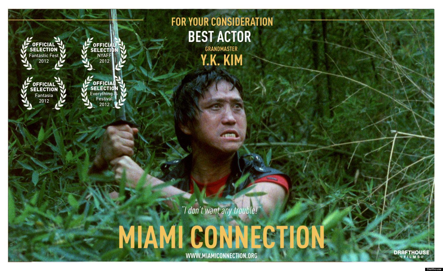 Miami Connection Grandmaster Y K Kim For Best Actor