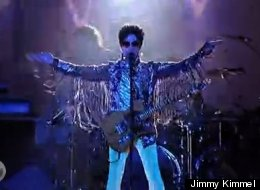 WATCH: Prince Brings Down The House On 'Jimmy Kimmel' In Rare Performance