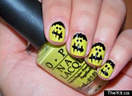 Trick Your Fingers Out For Halloween With Easy Nail Art