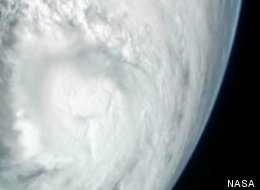 Sandy From Space 2012 Hurricane