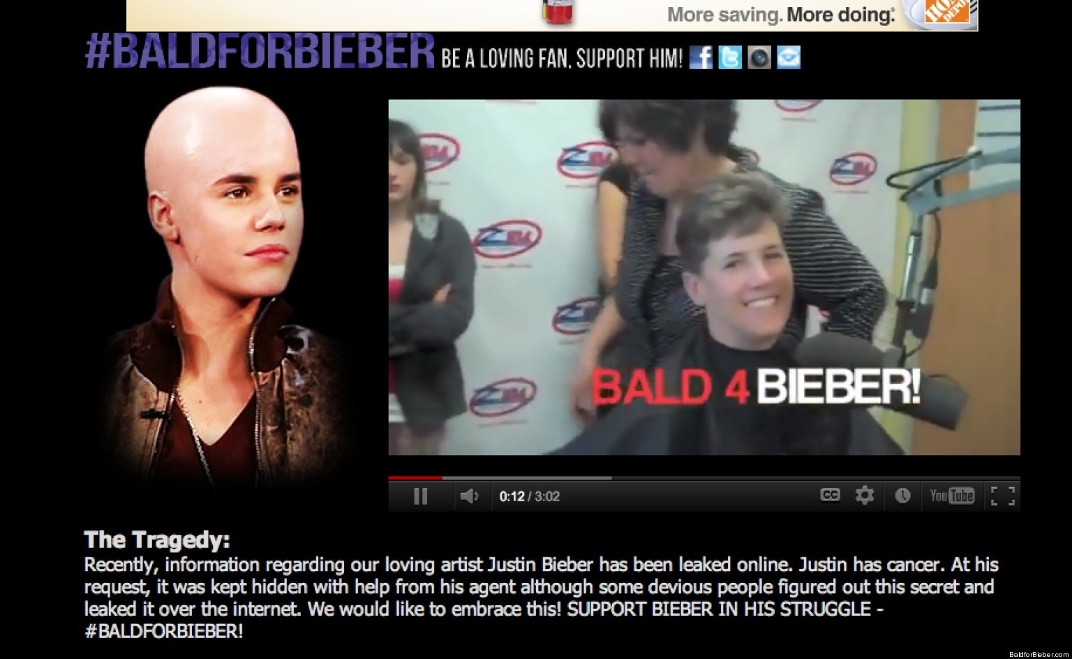 Justin Bieber Fans Shave Their Heads Images & Pictures - Becuo