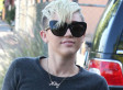 Miley Cyrus Wears Crop Top, Thigh High Boots: Yay Or Nay? (PHOTO)