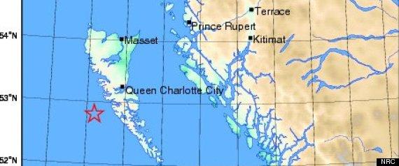 HAIDA GWAII MAP