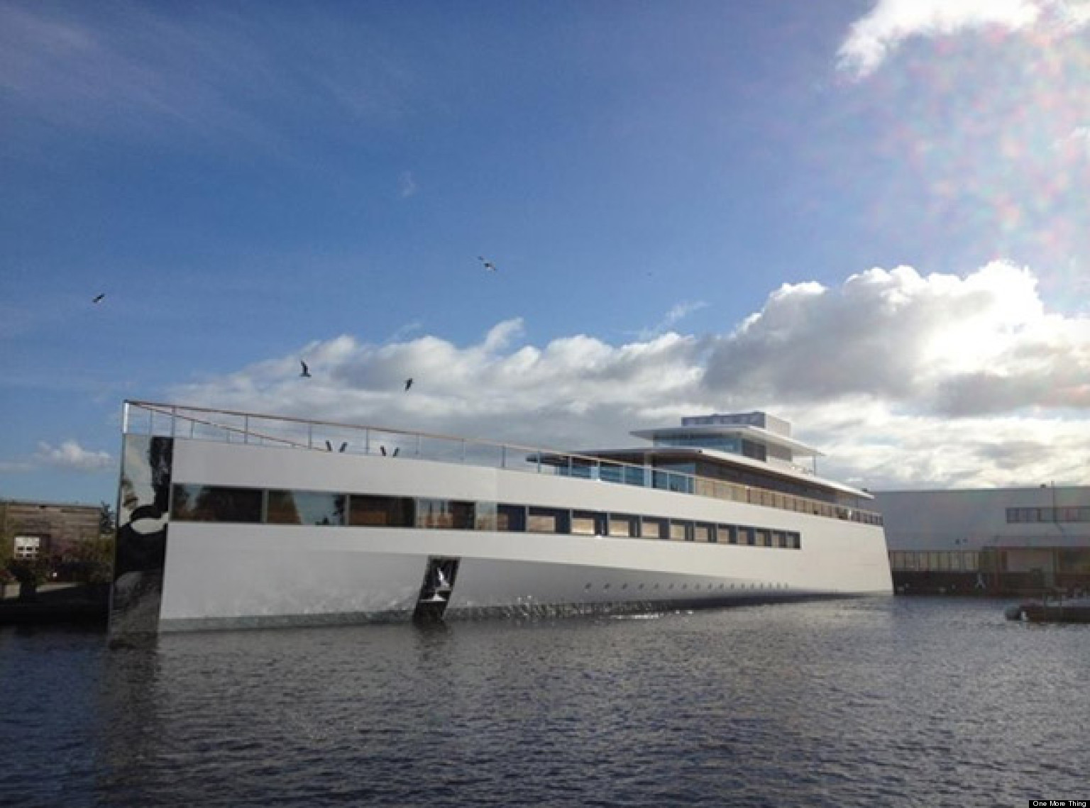 Apple Founder Steve Jobs' Yacht Finished One Year After ...