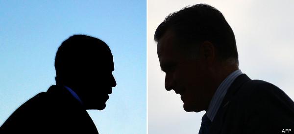 sandy obama romney