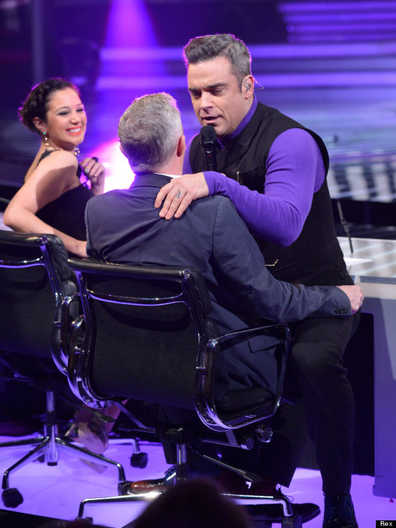 robbie williams louis walsh
