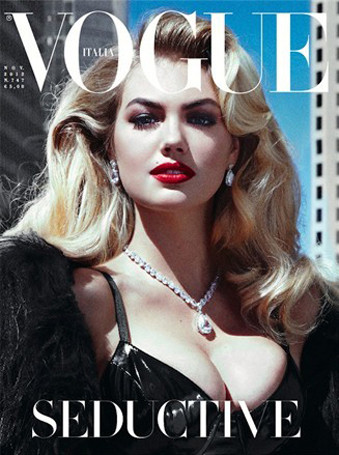 kate upton vogue italia cover