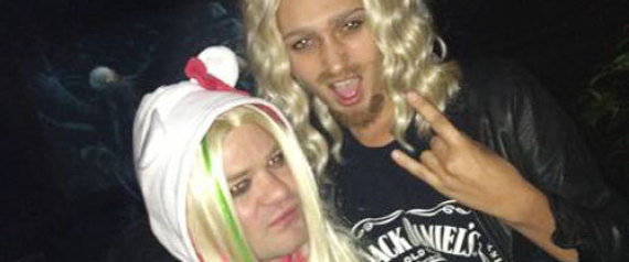DERYCK WHIBLEY AVRIL LAVIGNE HALLOWEEN