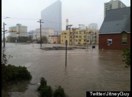 Atlantic City Flooded, Police and Fire Struggle To Evacuate Residents
