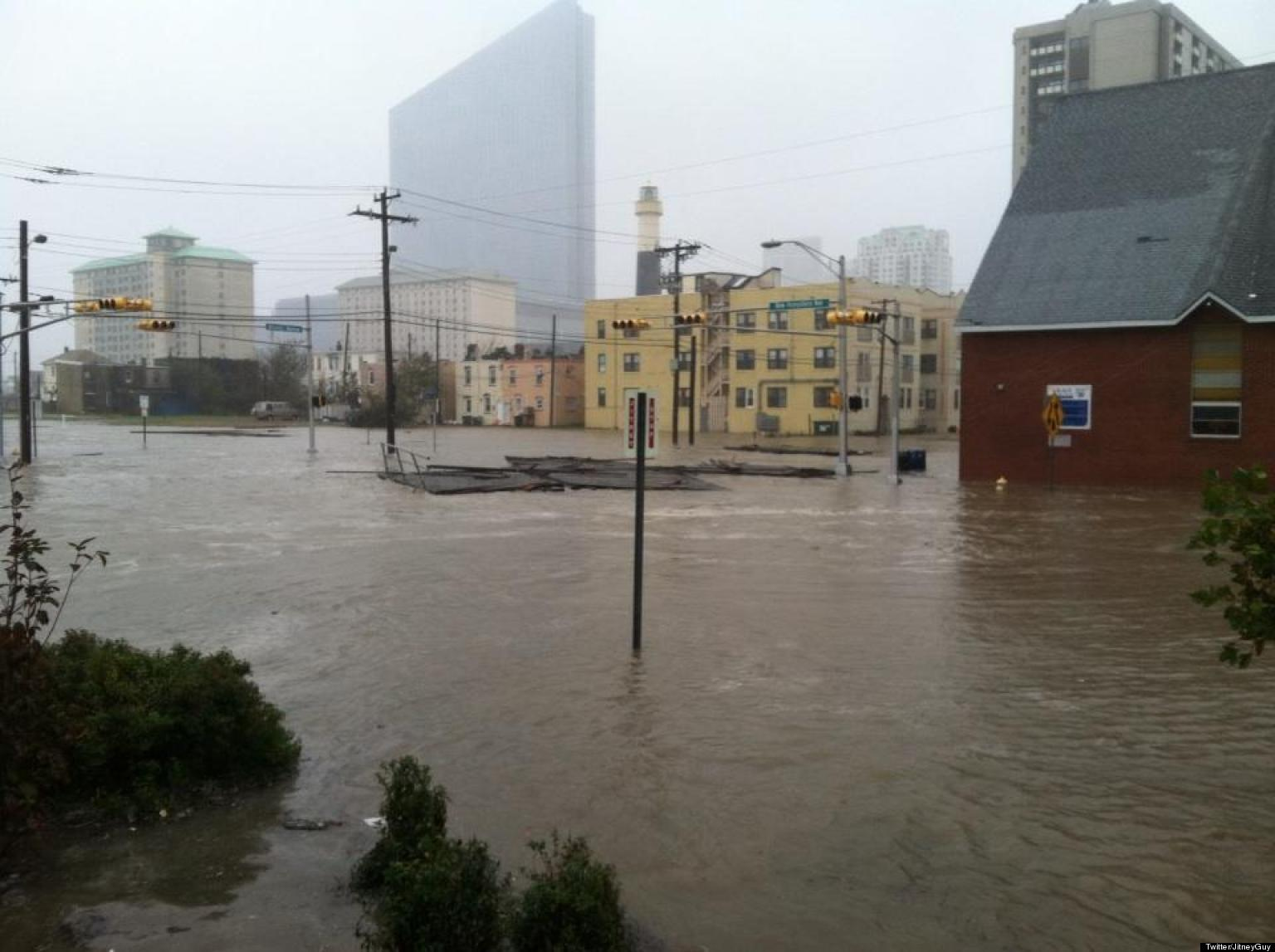 Atlantic City Flooding Photos Reveal Hurricane Sandy Damage