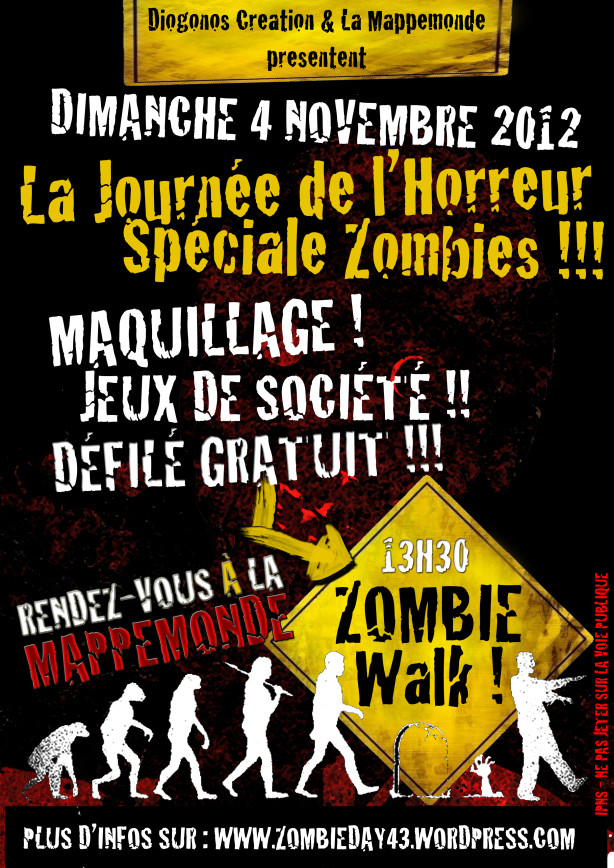 zombie walk puy en velay