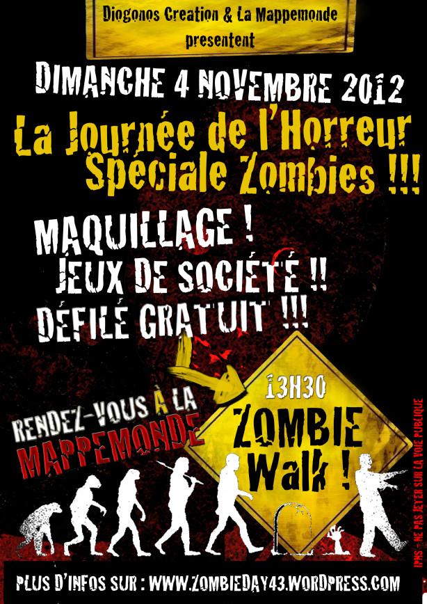 zombie walk puy en velay