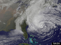 Hurricane Sandy Time Lapse Nasa