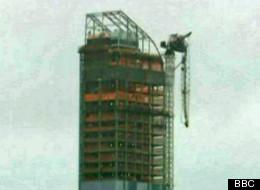 One57 Crane Collapses