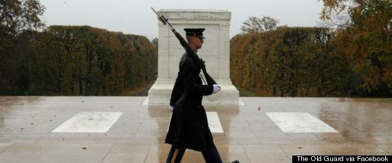 TOMB OF THE UNKNOWNS SANDY