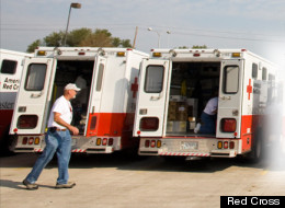 Refugios de la Cruz Roja en zonas afectadas por Sandy