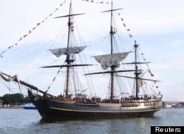 'Sandy' hunde el Bounty, un barco mítico