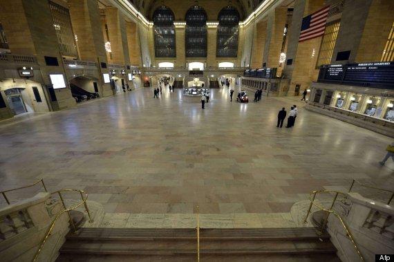 estación central nueva york vacía
