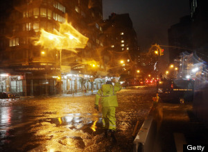 New York City Subway Flooding