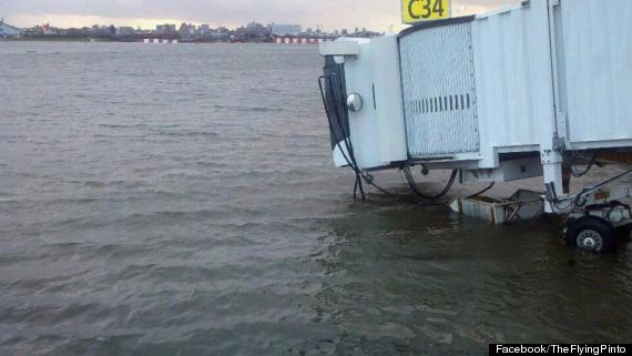 laguardia flooding sandy